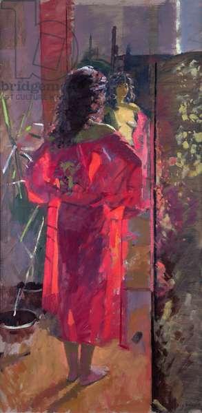 Dora Reflection (oil on canvas)