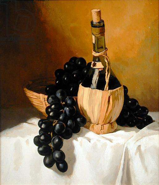 Grapes, 1999 (oil on canvas)