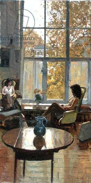 Autumn Reflection 97, 1997 (oil on canvas)