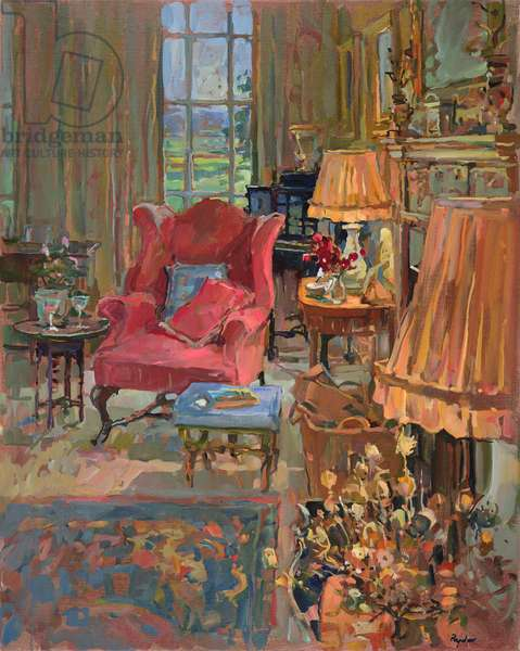 Room with a View (oil on canvas)