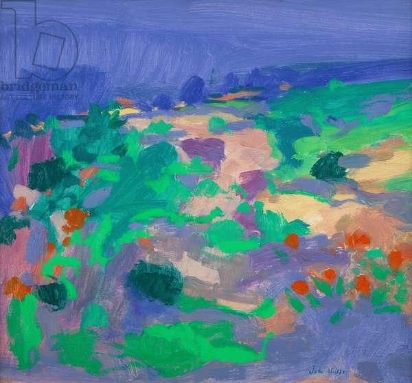 Algarve Landscape (oil on canvas)