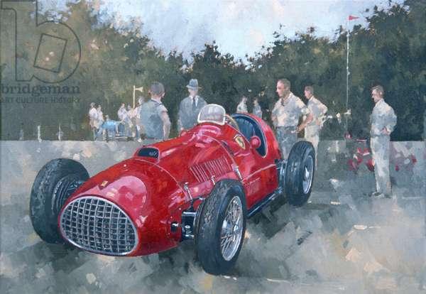 1951 Ferrari (oil on canvas)