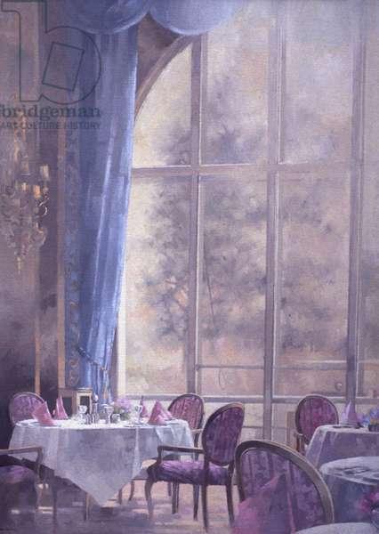 Corner of the Ritz (oil on canvas)
