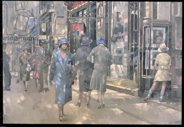 Bond Street, 1999 (oil on canvas)
