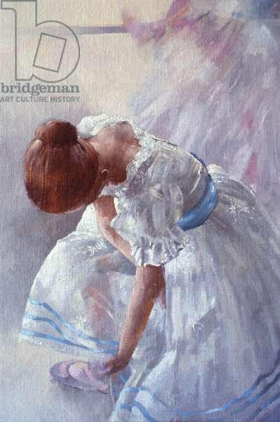 Sheila Against a Window (oil on canvas)