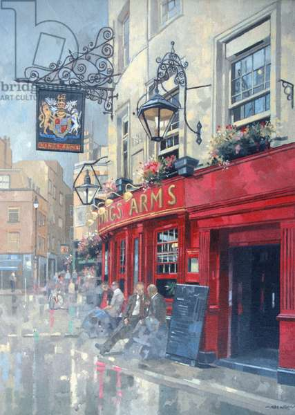 The Kings Arms, Shepherd Market, London (oil on canvas)