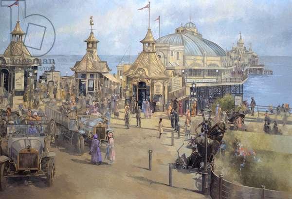 Eastbourne, 1925 (oil on canvas)