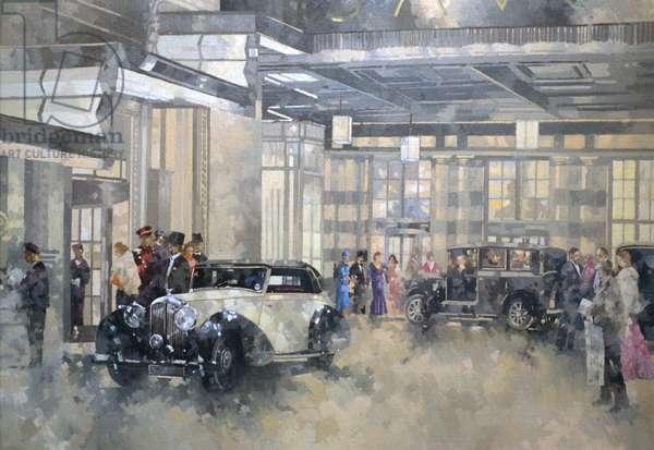The Savoy (oil on canvas)