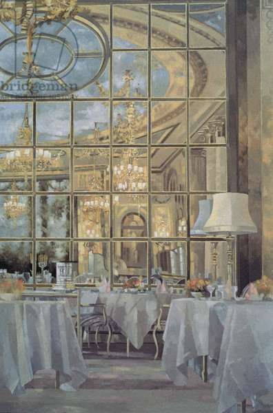 The Ritz, 1985 (oil on canvas)