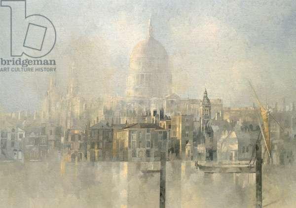 St Paul's (oil on canvas)