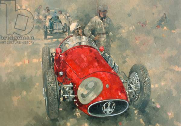 Goodwood 54 Roy Salvadori (oil on canvas)