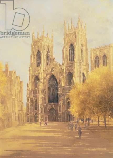 York Minster, 1991 (oil on canvas)