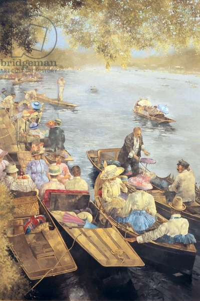 Elegant Henley, 1911 (oil on canvas)
