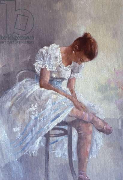 Dancer (oil on canvas)