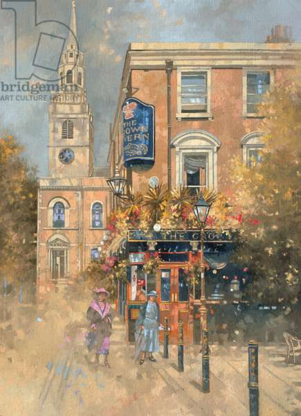 The Crown Tavern - Clerkenwell (oil on canvas)