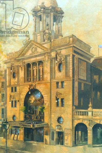 Victoria Palace Theatre (oil on canvas)