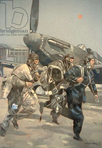 When the Bell Rings (oil on canvas)
