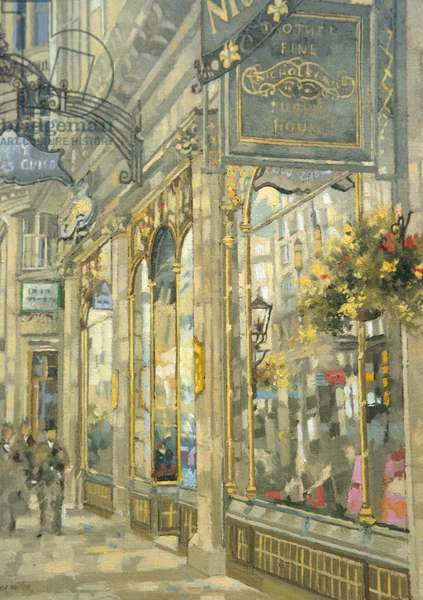 The Savoy Taylors Guild - The Strand (oil on canvas)