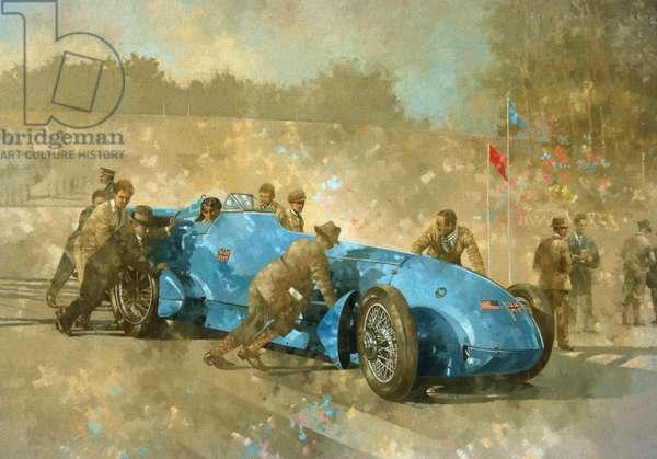 Bluebird, 1928 (oil on canvas)