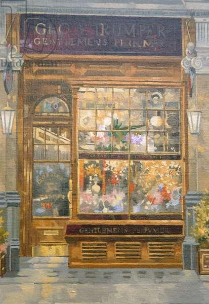 Geo F. Tumper, Jermyn Street, London (oil on canvas)