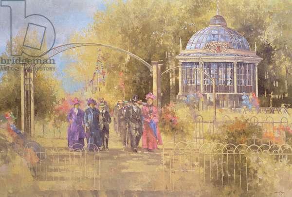 Victorian Sunday, 1991 (oil on canvas)
