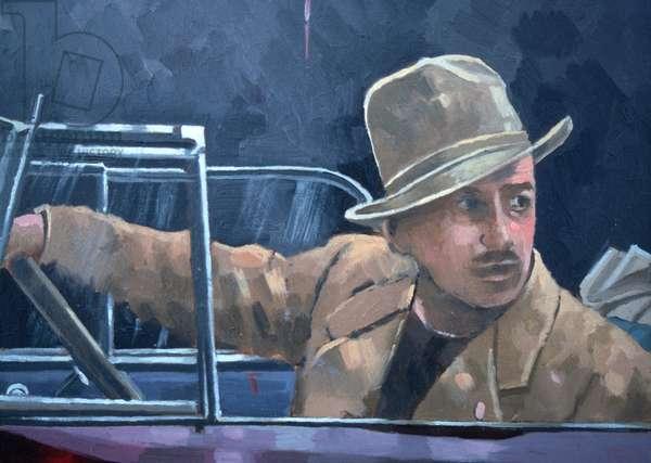 Walt Disney (oil on canvas)