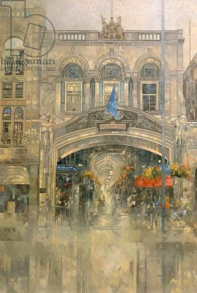 Burlington Arcade (oil on canvas)