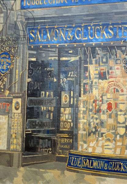 Salmon and Gluckstein, Oxford Street (oil on canvas)