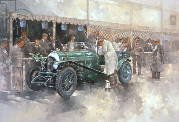 Bentley Old No.7 (oil on canvas)