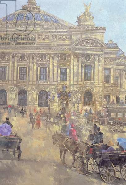 L'Opera, Paris, 1993 (oil on canvas)