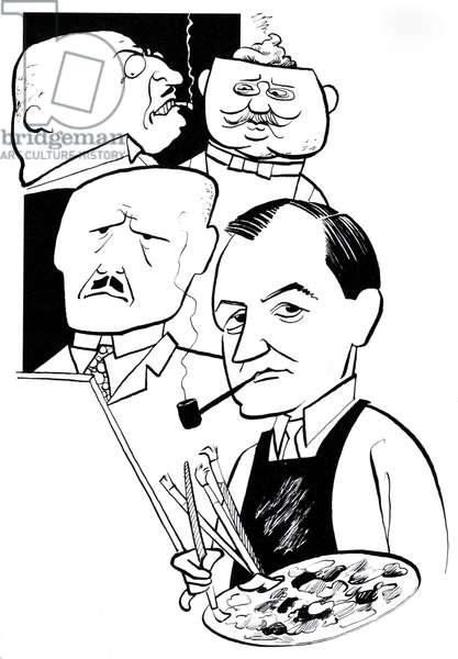 George Grosz, caricature