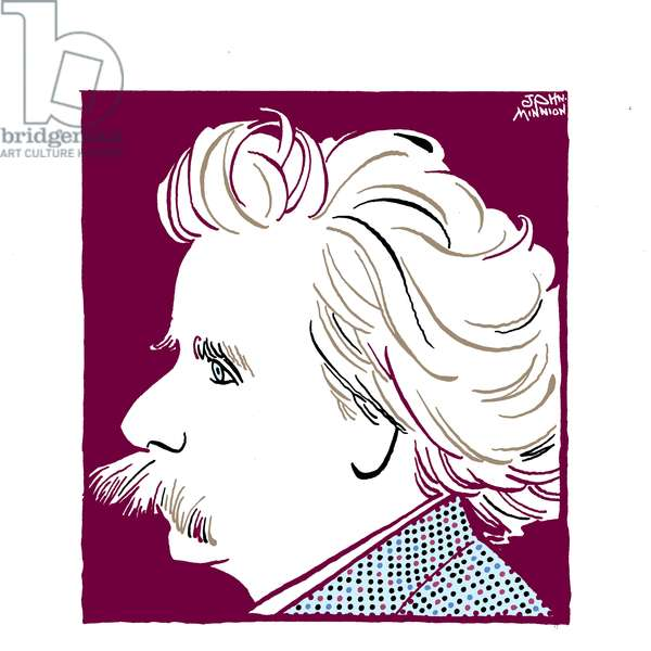 Edvard Grieg -  Norwegian composer of Scottish descent 1843-1907