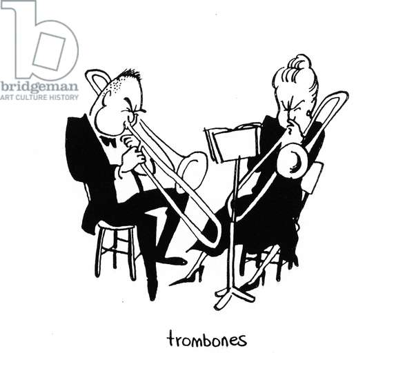 Trombones and trombonists - by John Minnion