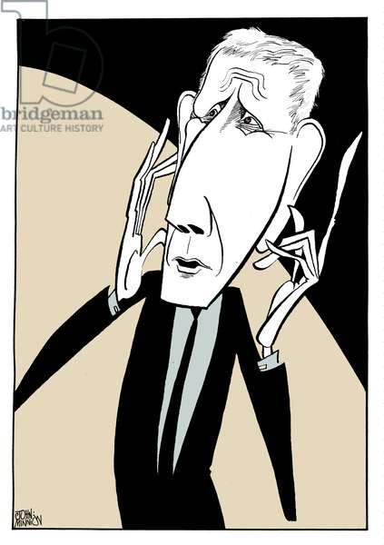 Jonathan Miller - caricature