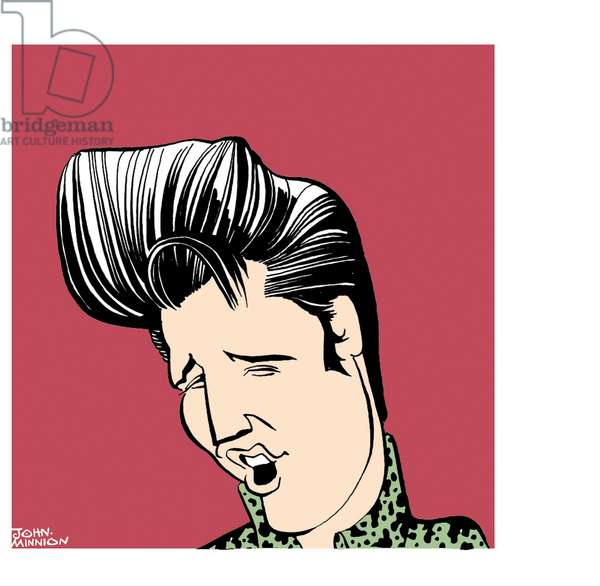 Elvis PRESLEY, portrait