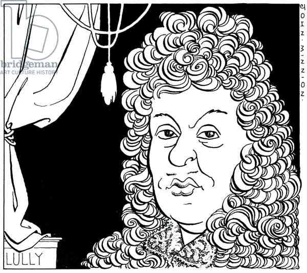Caricature of Lully by John Minnion