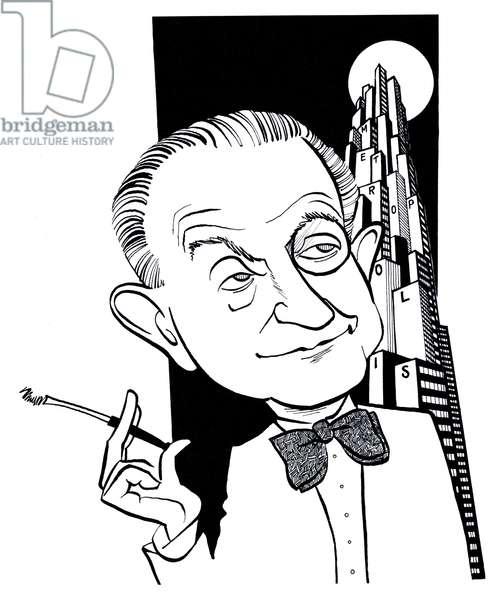 Fritz Lang, caricature