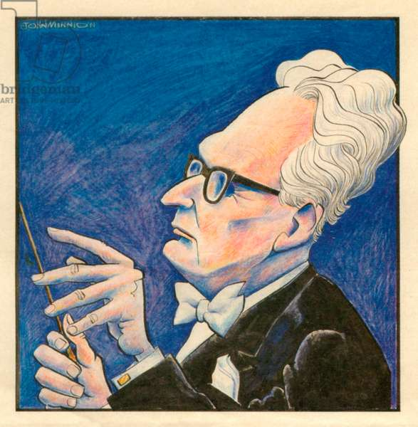 Otto Klemperer, caricature