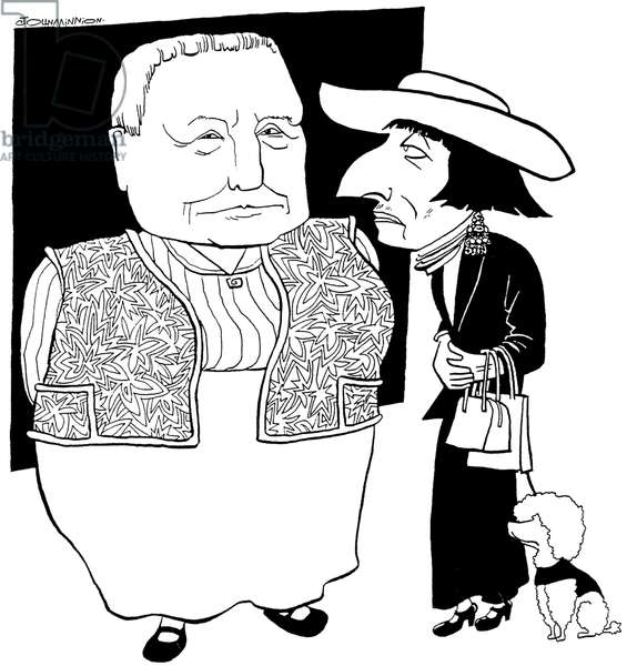 Gertrude Stein and Alice B