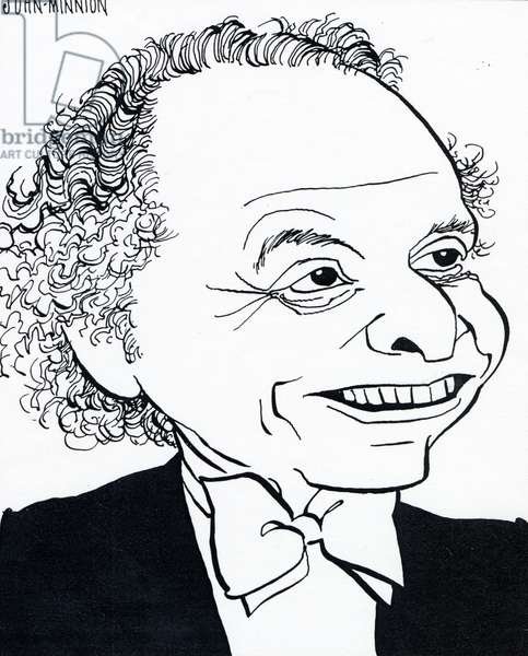 Lorin Maazel by John Minnion American conductor and violinist B