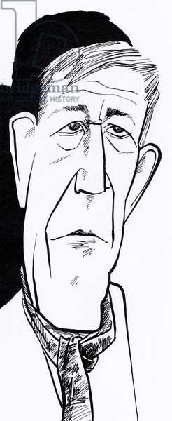 Oskar Kokoschka, caricature