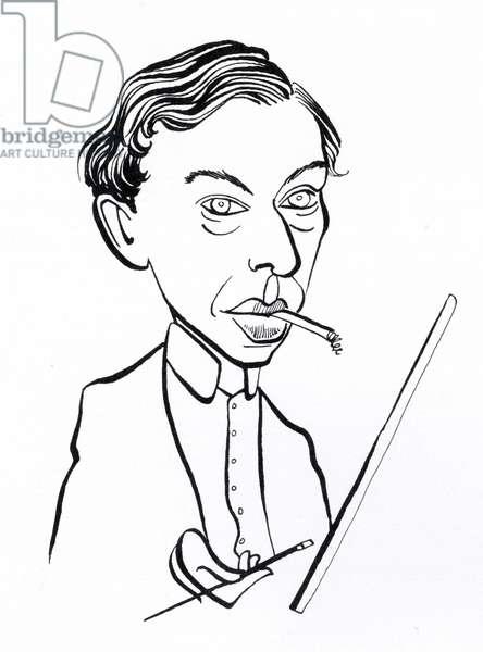 Ernst Ludwig Kirchner, caricature