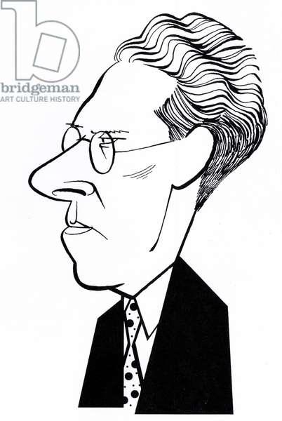 Laszlo Moholy-Nagy, caricature