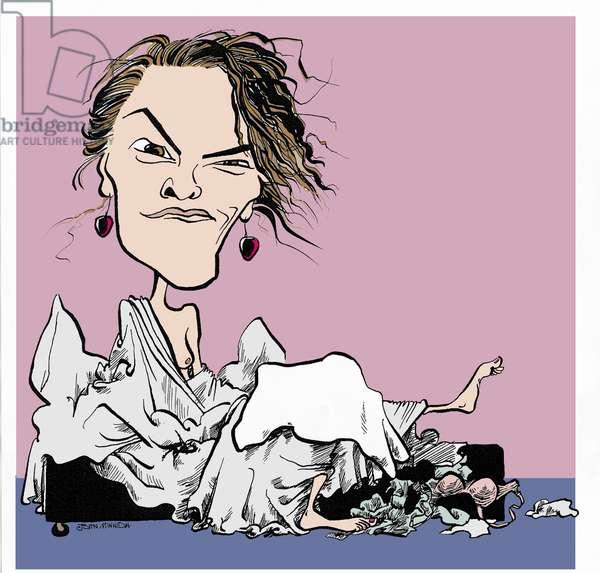Tracey Emin, caricature
