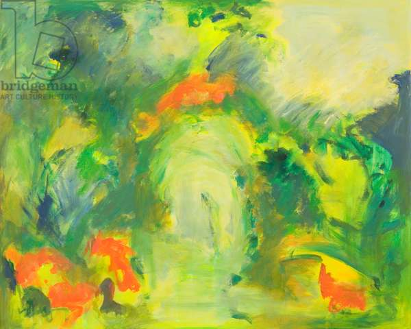 Venice Garden, 2012 (acrylic on canvas)