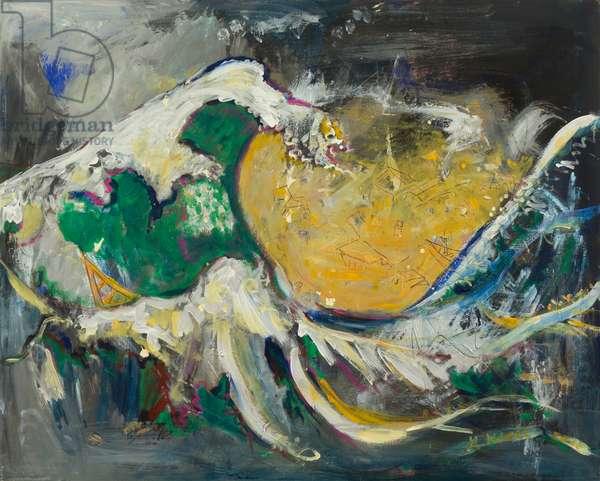 Wave, 2011 (acrylic on canvas)