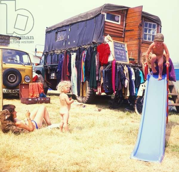 Glastonbury 89 Hippie Bohemia, 1989 (photo)