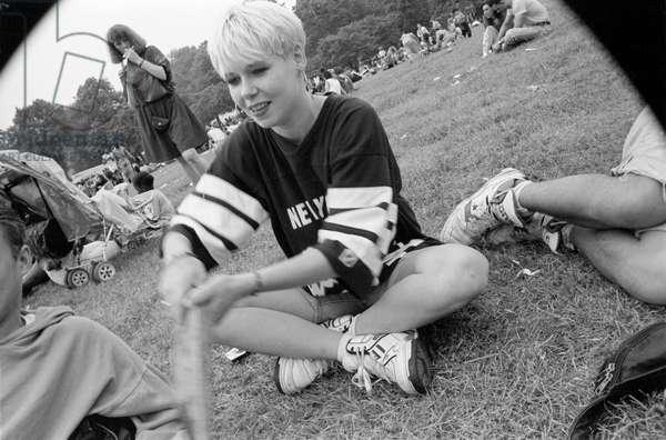 Mosside JO, 1989 (b/w photo)