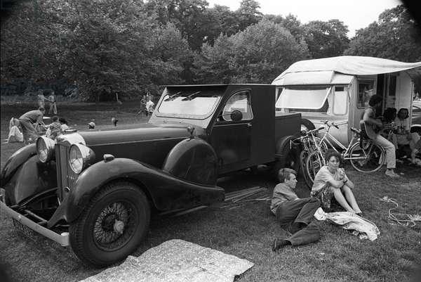 Mosside Wicked Motor, 1989 (b/w photo)