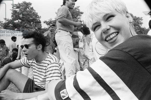 Mosside JO 1, 1989 (b/w photo)